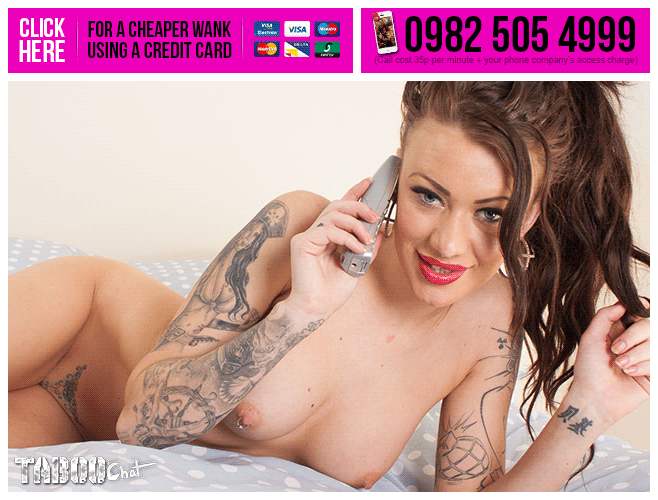 Tattooed Phone Sex Chat Online Live 35p